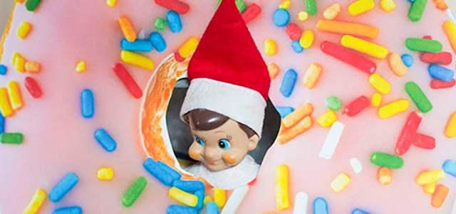 Our Elf On The Shelf Has Been Busy This Year New Ideas