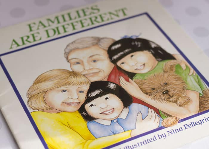 Families Are Different Book