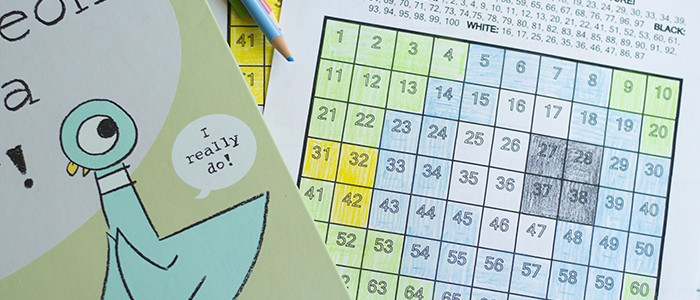 How To Make Math Super Silly With a Mo Willems\' Pigeon Story Time