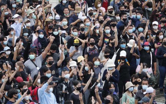 泰國傳媒報導抗議活動 警調查指社交專頁發布煽動信息