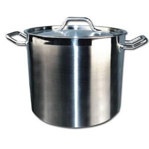 Winware Stainless Steel 40 Quart Stock Pot with Cover