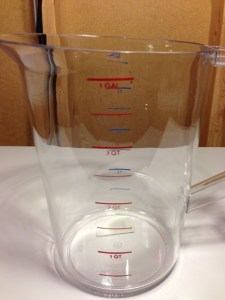 Hands On Review: Rubbermaid Commercial Product 1 Gallon Bouncer Pitcher