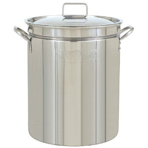 Bayou Classic 1044 44-Quart Stainless-Steel Stockpot Homebrewing