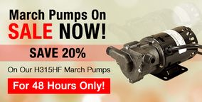 Limited time March Pump Sale at MoreBeer