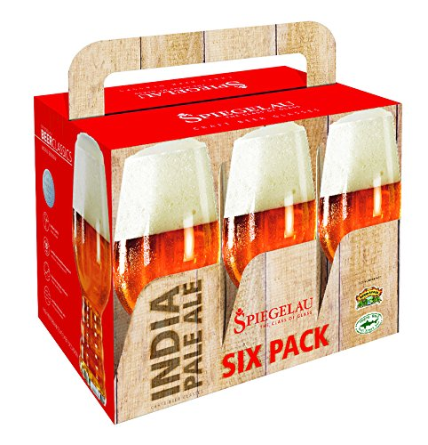 Spiegelau Beer Classics IPA Glass, Set of 6
