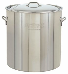 Bayou Classic 1022 Stainless Steel Stockpot, 122-Quart