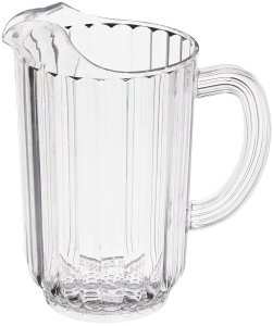 Rubbermaid Commercial FG333700CLR Bouncer Pitcher, 54-Ounce