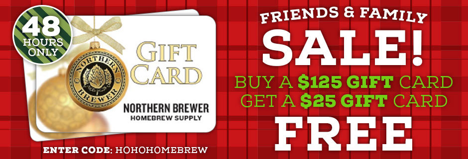 Northern Brewer Gift Card Discount