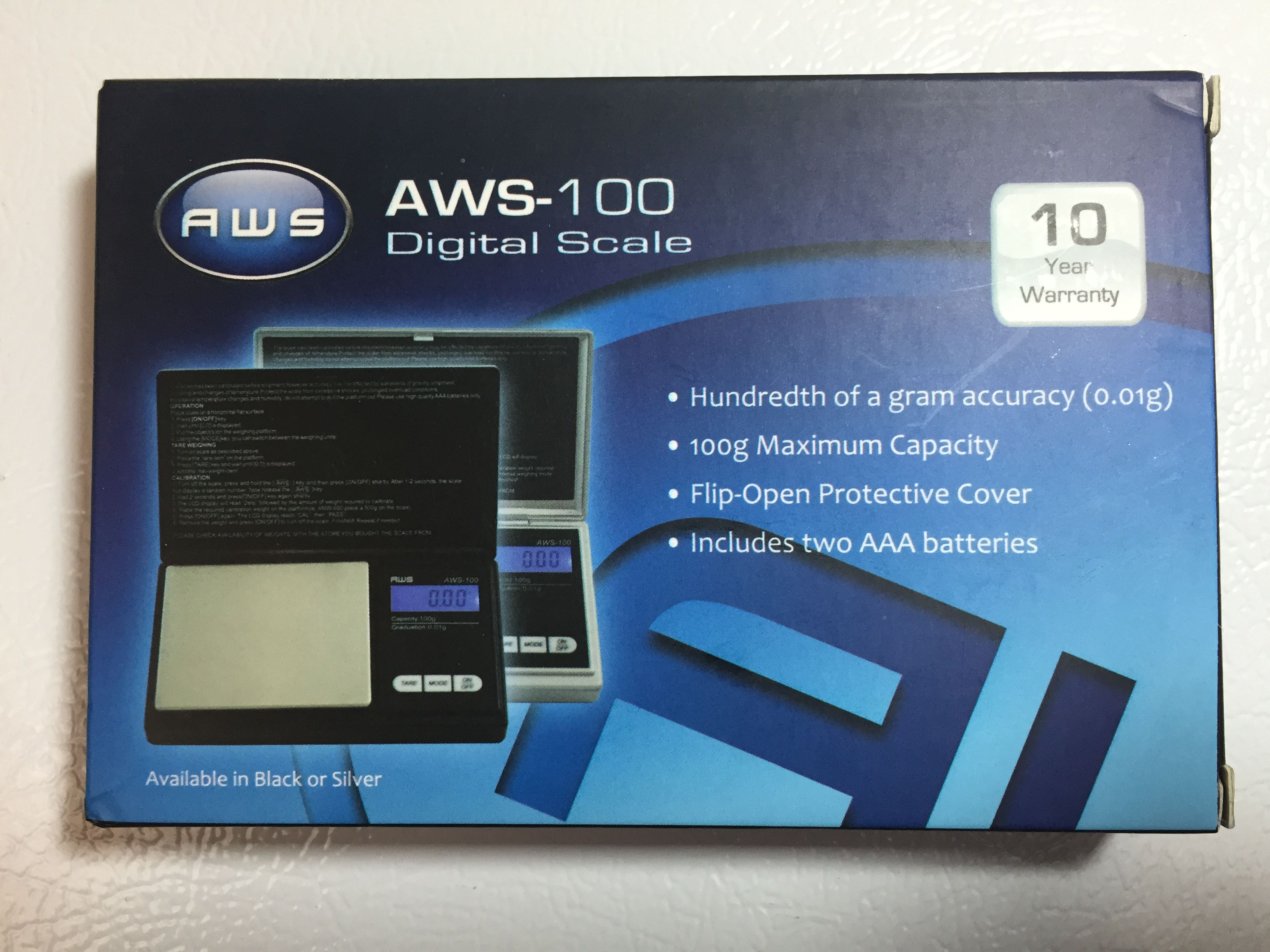 Hands On Review: American Weigh AWS-100 Digital Gram Scale ...