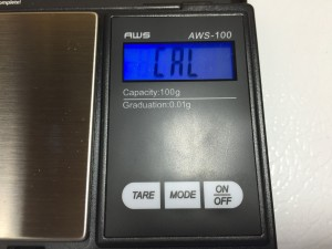 AWS-100 Calibration