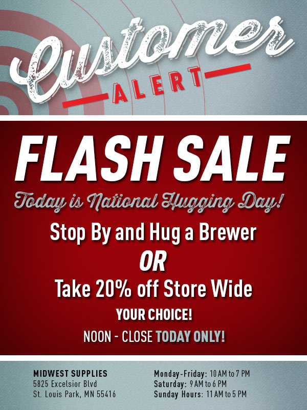 Midwest Supplies In Store Sale