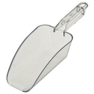 Update International SCP-24C Polycarbonate Plastic Scoop, Clear, 24-Ounce