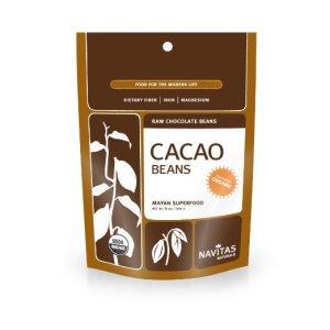 Navitas Naturals Organic Raw Cacao Beans, 8-Ounce Pouches