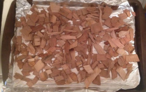 Pre-Toasted Wood