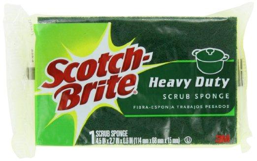 Scotch-Brite Heavy Duty Scrub Sponge, 21 Count