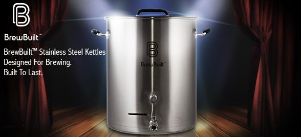 MoreBeer BrewBuilt Kettles