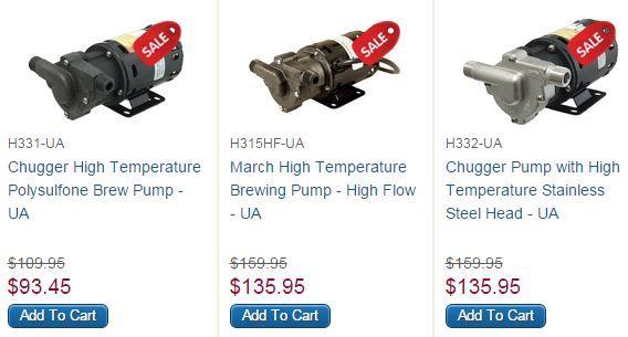 Homebrew Pumps