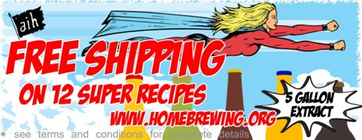 adventures in homebrewing free shipping