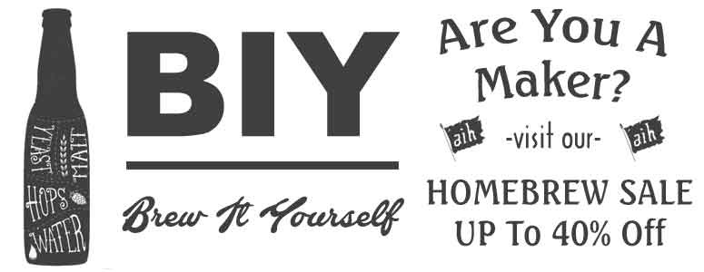 Adventures in Homebrewing Brew It Yourself Sale!