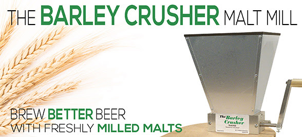 Homebrew Malt Mill Barley Crusher