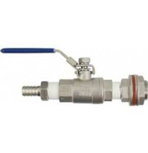 Eagle Brewing Wl301 Stainless Weldless Ball Valve