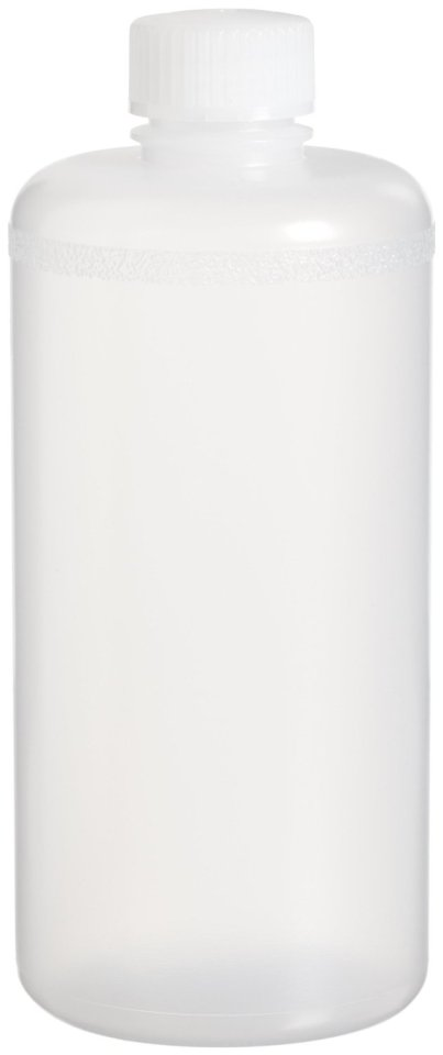 Bel-Art 106310007 Scienceware Polypropylene Precisionware Narrow-Mouth Autoclavable Bottle with 38mm Closure, 500ml Capacity, Pack of 12