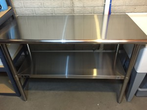 Hands On Review: TRINITY EcoStorage NSF Stainless Steel Table