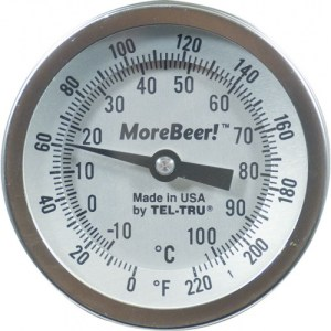 "Dial Thermometer (3"" Face x 6"" Probe)"