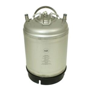 amcyl 2.5 gallon ball lock homebrew keg