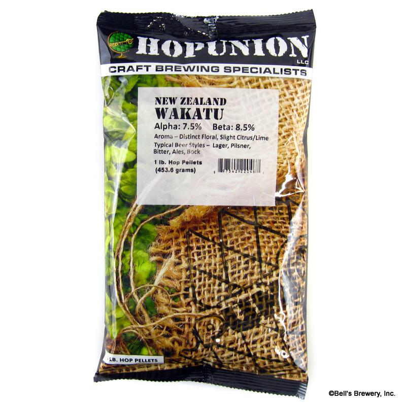 Wakatu (NZ) Hops - 1 lb Pellets