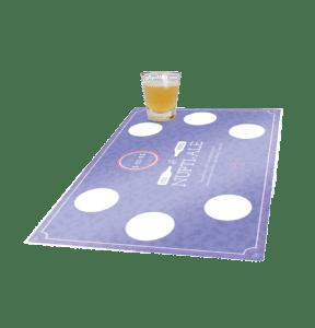custom tasting mats