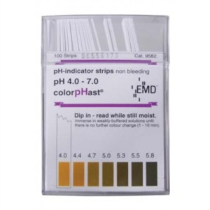 COLORPHAST PH STRIPS 4-7 - 100 PACK