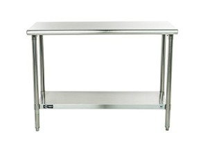 TRINITY EcoStorage NSF Stainless Steel Table