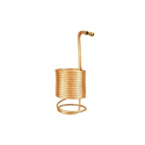 "Immersion Wort Chiller (50' x 1/2"" w/ Brass Fittings)"