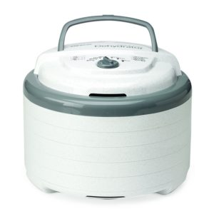 Nesco FD-75A Snackmaster Pro Food Dehydrator, White - MADE IN USA