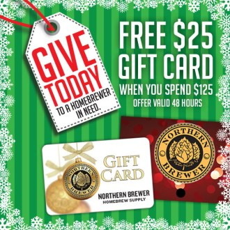 Spend $125, Get a FREE $25 Gift Card