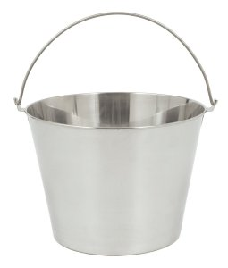 Bayou Classic 4865 Stainless Beverage Bucket, 6.5-Gallon