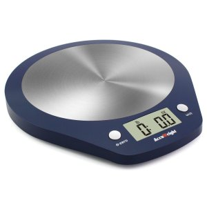 Accuweight Digital Food Scale with 11lb/5kg Gram Scale Electronic Kitchen Scale