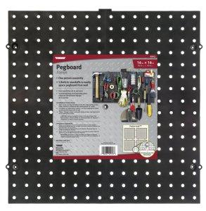 Dorman Hardware 29993 Pegboard, 16-Inch X 16-Inch