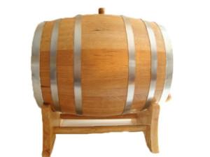Oak Barrels 20 liter Steel Hoop age whiskey, wine or spirits - free engraving