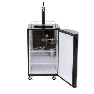 Nostalgia KRS2100 Full Size Kegorator Black Draft Beer Dispenser