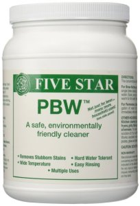 Five Star PBW Cleaner (Powdered Brewery Wash), 4-Pound Jar