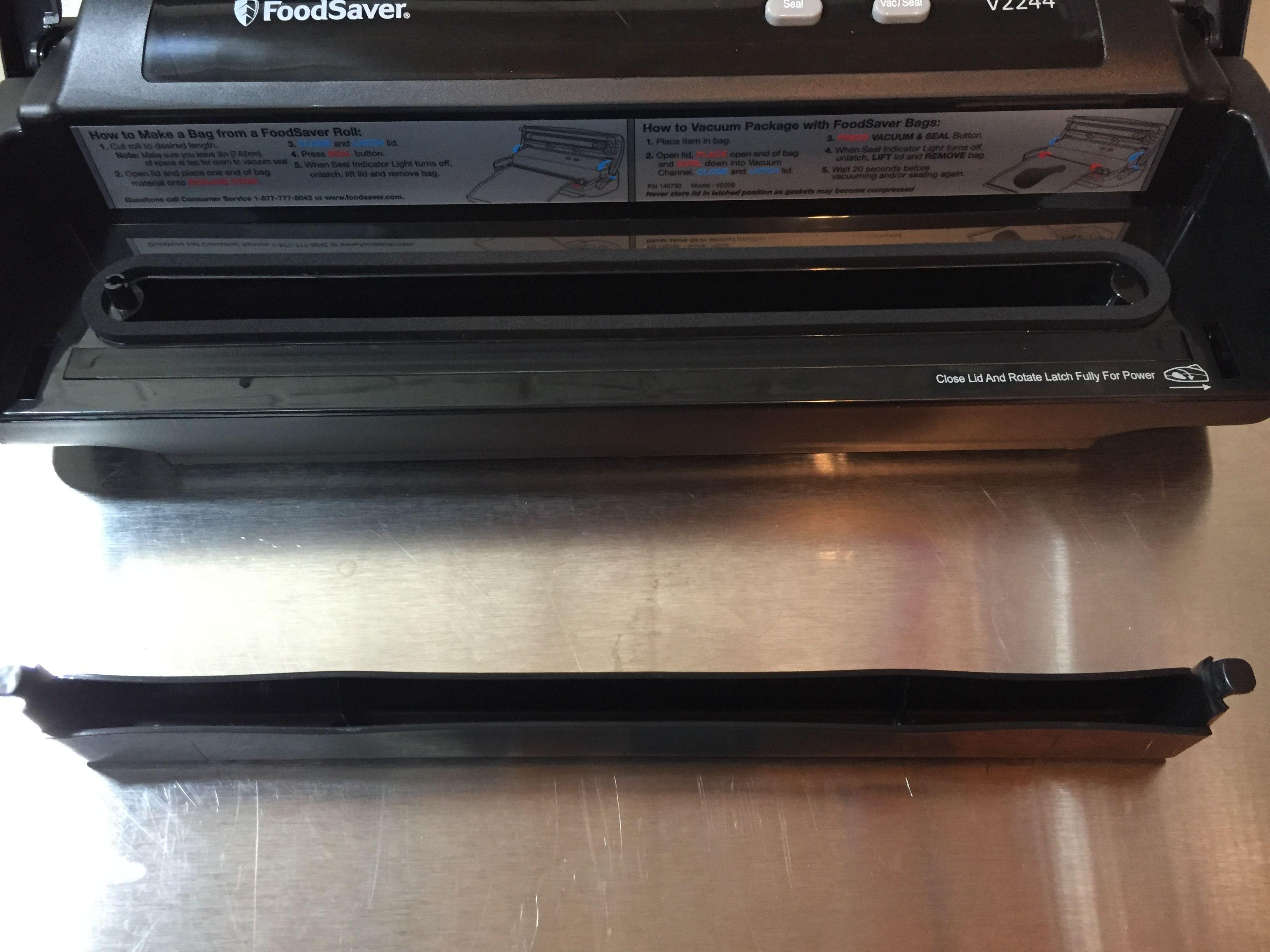 Hands On Review: FoodSaver V2244 Vacuum Sealer | Homebrew Finds