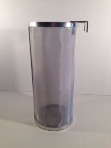 STAINLESS STEEL HOP 300 Micron Beer SPIDER HOP FILTER 14x6 Beer Homebrew