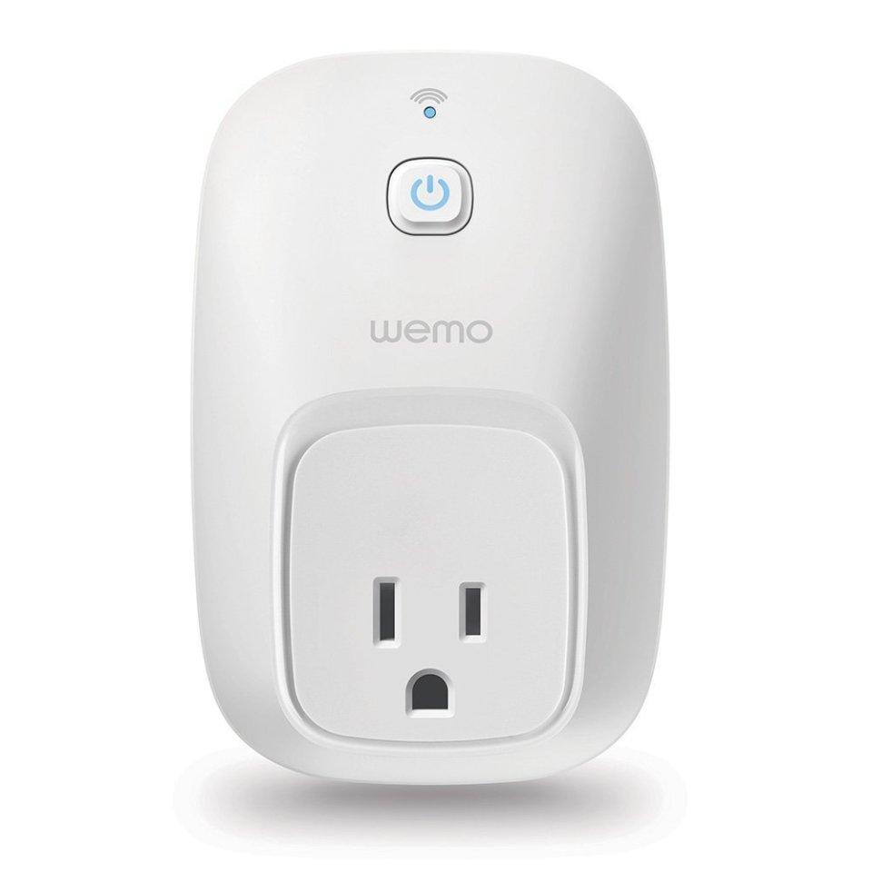 Wemo Switch Smart Plug, Wi-Fi, Works with Alexa