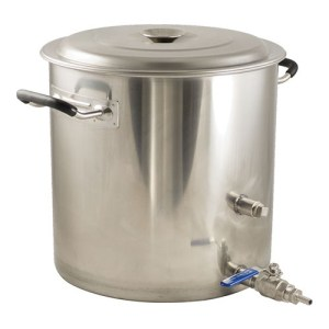 Stainless Steel BrewMaster Brewing Kettle - 8.5 gal.