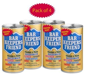 Bar Keepers Friend® Cleanser & Polish 12 Oz (Pack Of 4)
