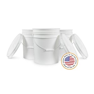 6 X 5 Gallon Food Grade Buckets And Lids Homebrew Finds