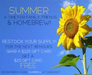 free $25 love2brew