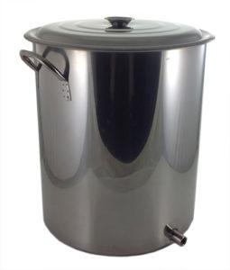 15 Gallon 1 Weld Volume Marked Brew Pot